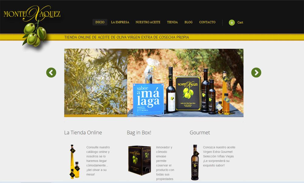Tienda Online Aceite de Oliva Virgen Extra